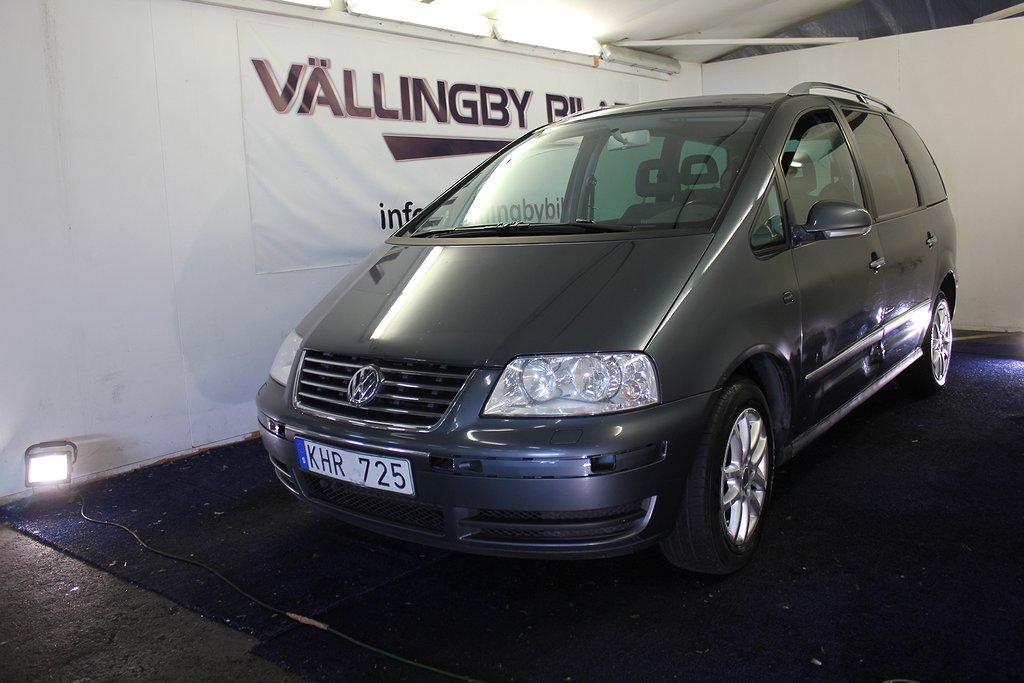 Volkswagen Sharan 1.8 T Freestyle 7-sits(150hk)Besiktad,Full Servic