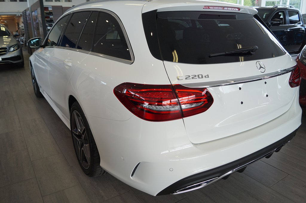 Mercedes-Benz C 220 d / Facelift / AMG / Värmare