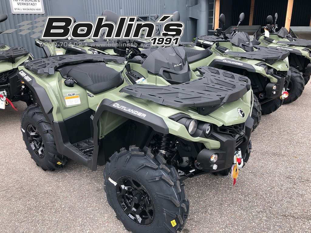 Can-Am Outlander Pro + 570  T3 -19