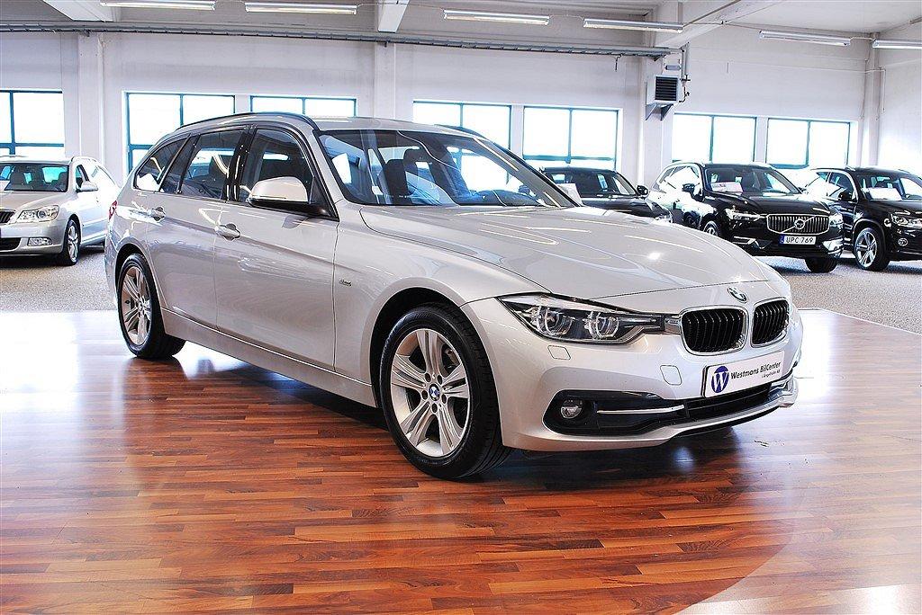 BMW 320 d 190hk xDrive Sport line *Navi*Drag*