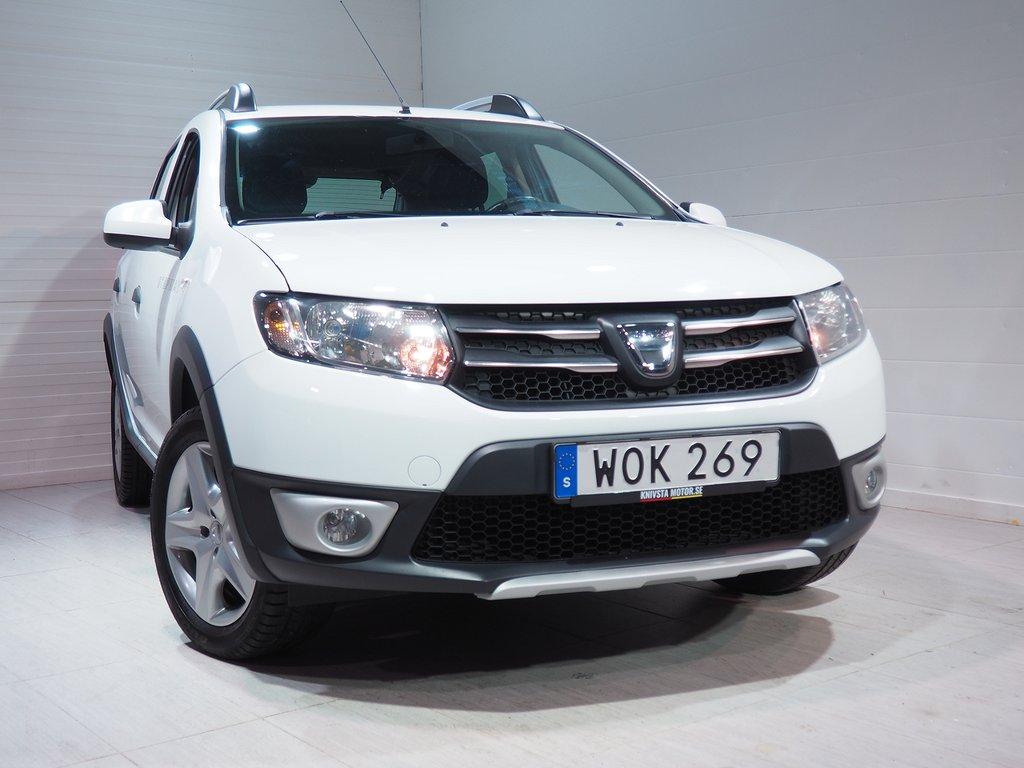 Dacia Sandero Stepway 0.9 TCe 90hk Dragkrok 2015