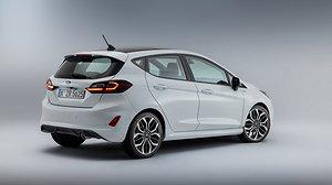 Nya Ford Fiesta elektrifieras. Foto: Ford.