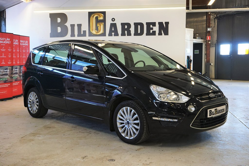 Ford S-Max 2.0 TDCi Powershift 7-sits 140hk