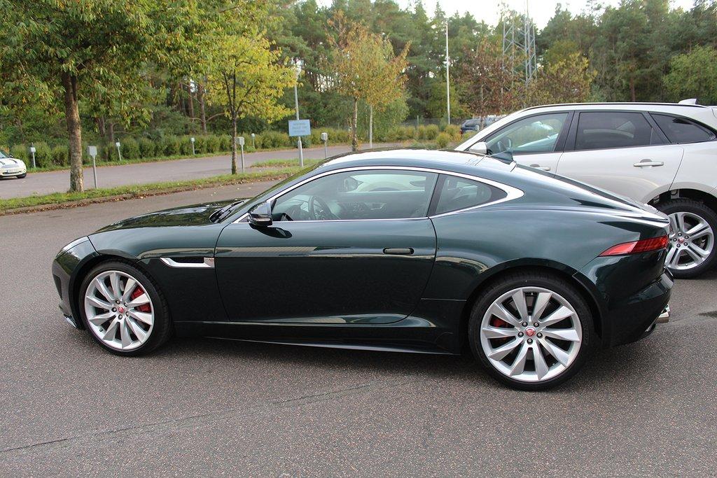 Jaguar F-Type R  550hk, helrätt färg!