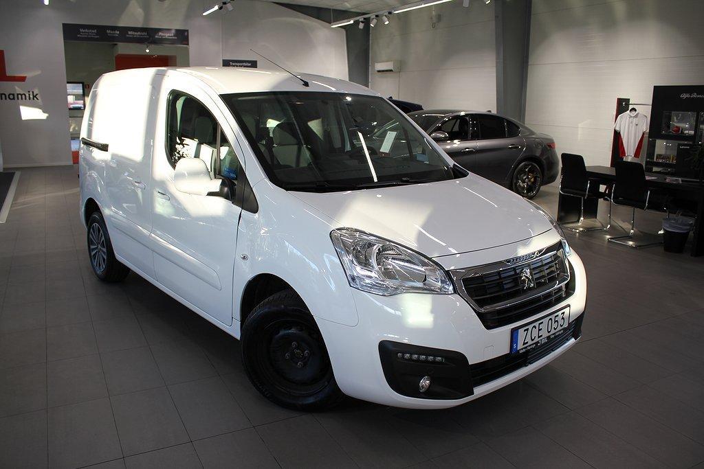 Peugeot Partner Skåp 1,6 BlueHDi 100hk Aut L1 - DEMO