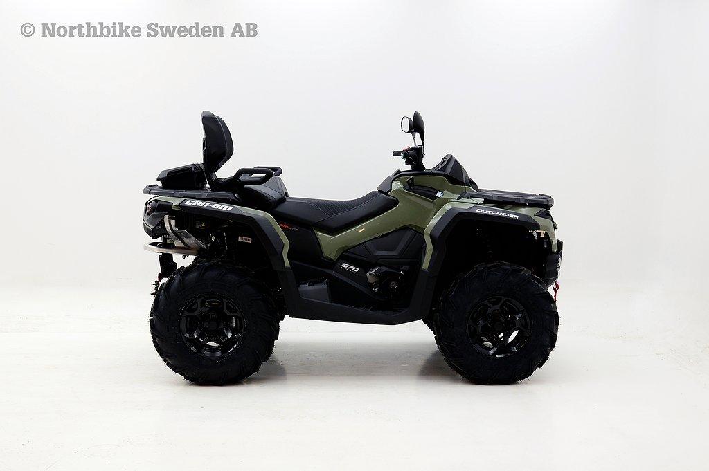 Can-Am Outlander 570 MAX PRO T3B *5,000kr i tillbehör*