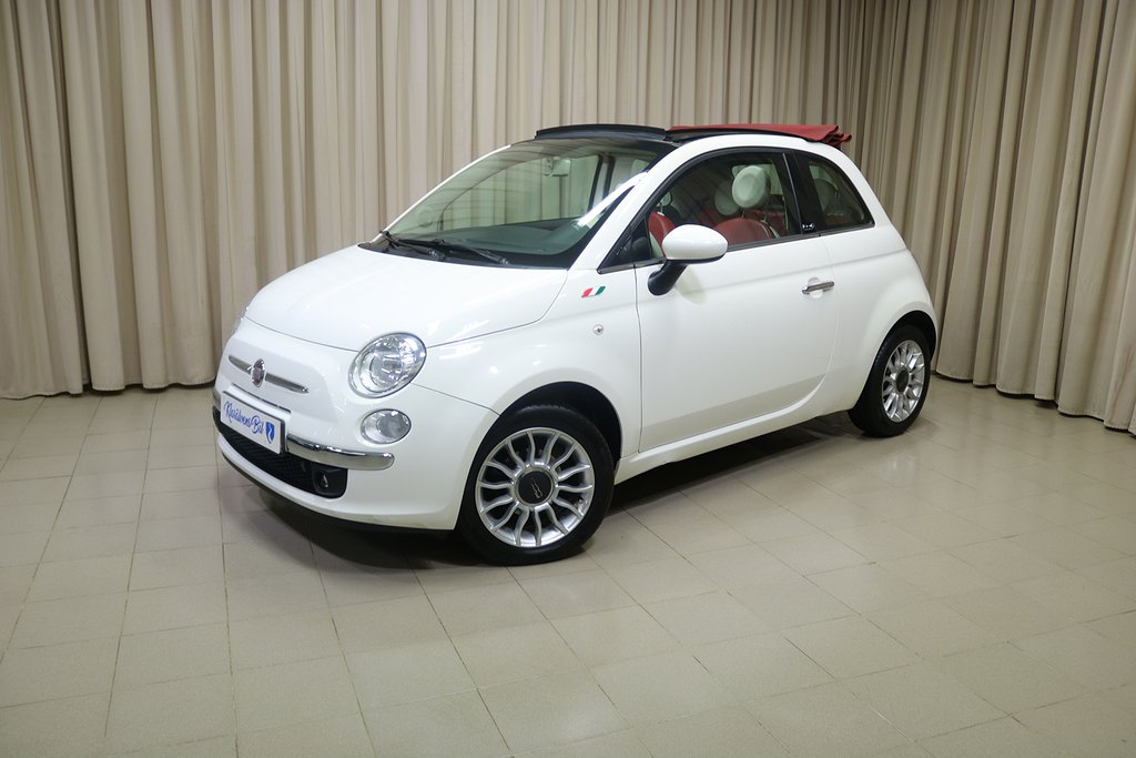 Fiat 500C 1.2 Lounge (69hk) Cabriolet / PDC / Bluetooth