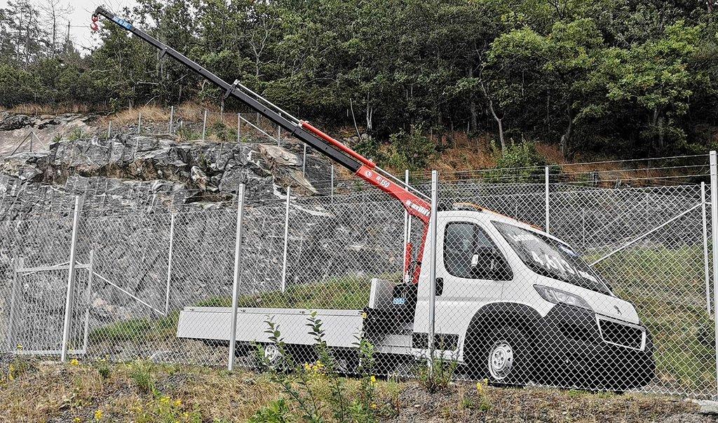 Peugeot Boxer Ny 2.2L 165HK kran ML 150.3