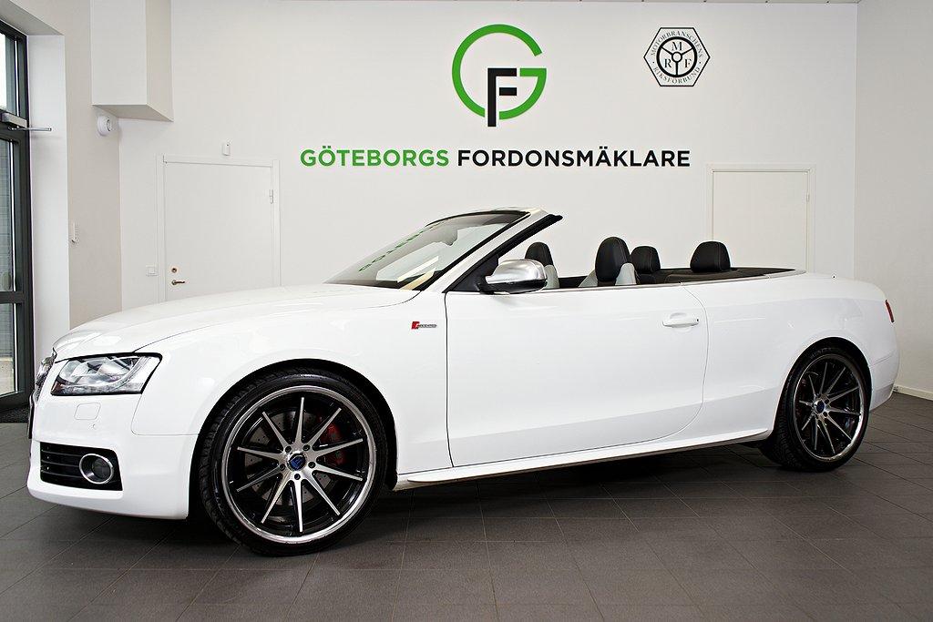 Audi S5 Cabriolet 3.0 TFSI V6 Quattro 333hk/ Rohana / LÅGMIL