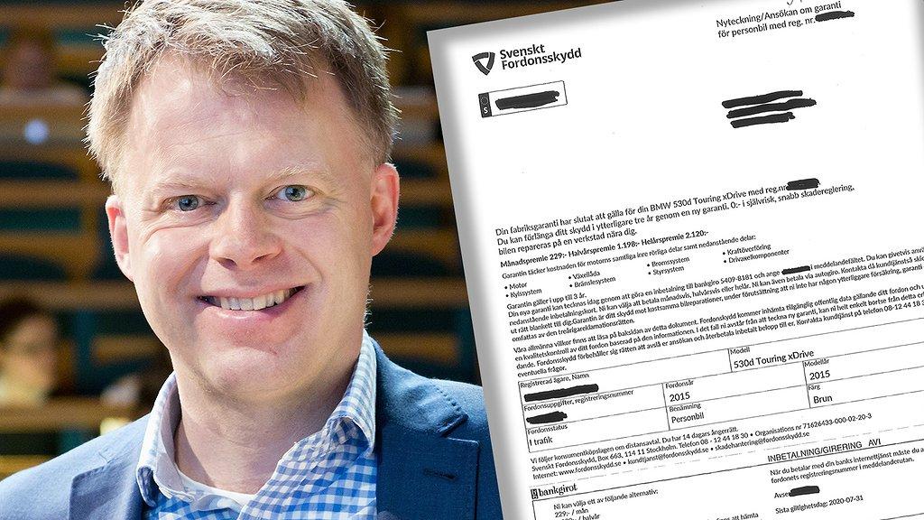 Konsumentforskaren Anders Parment varnar för utskicket.
