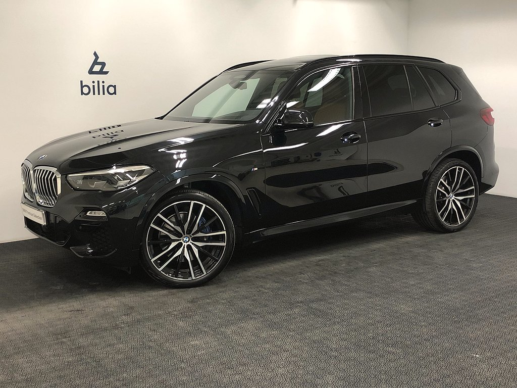 BMW X5 xDrive 30d Aut   Drag   H&K   Kupévärmare