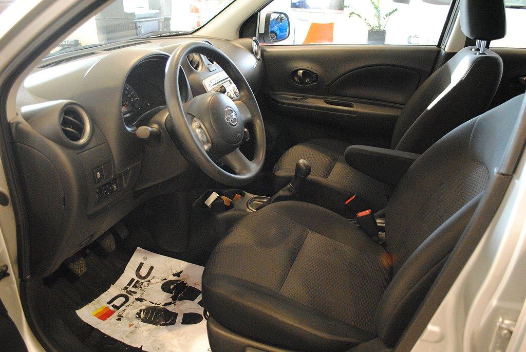 Nissan Micra 1.2 80hk *Bluetooth*