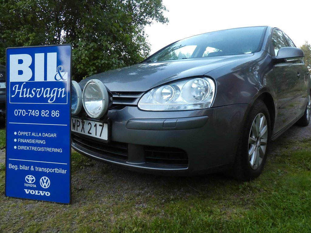 Volkswagen Golf 5D 2.0 FSI NYBES/NYSERV/FINANS/150 HK/FARTH MM