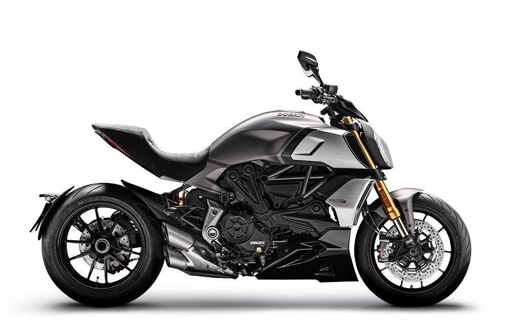 Ducati Diavel 1260 S grå
