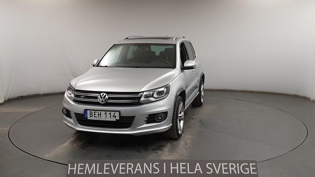 Volkswagen Tiguan 2.0 TDI 4M DSG R-line Pano D-Värm Premium