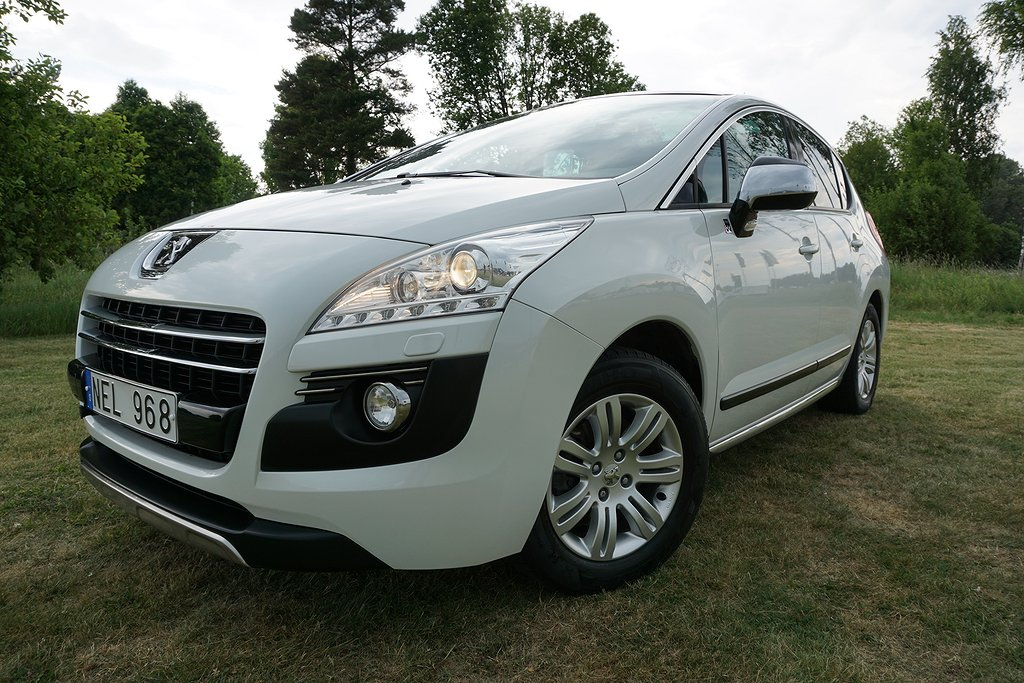 Peugeot 3008 2.0 Hybrid4 EGS 200hk V-hjul