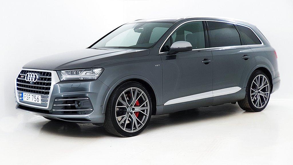 Audi SQ7 4.0 TDI V8 quattro TipTronic Euro 6 7-sits 435hk