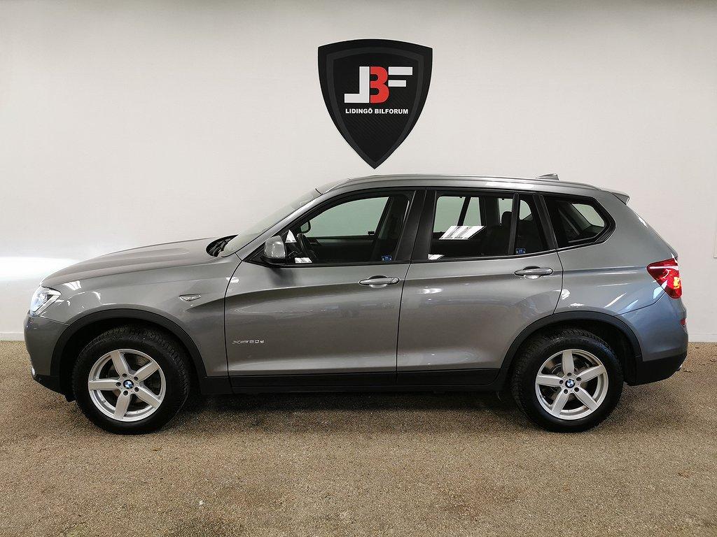 BMW X3 xDrive20d Steptronic En ägare, Se utrustning