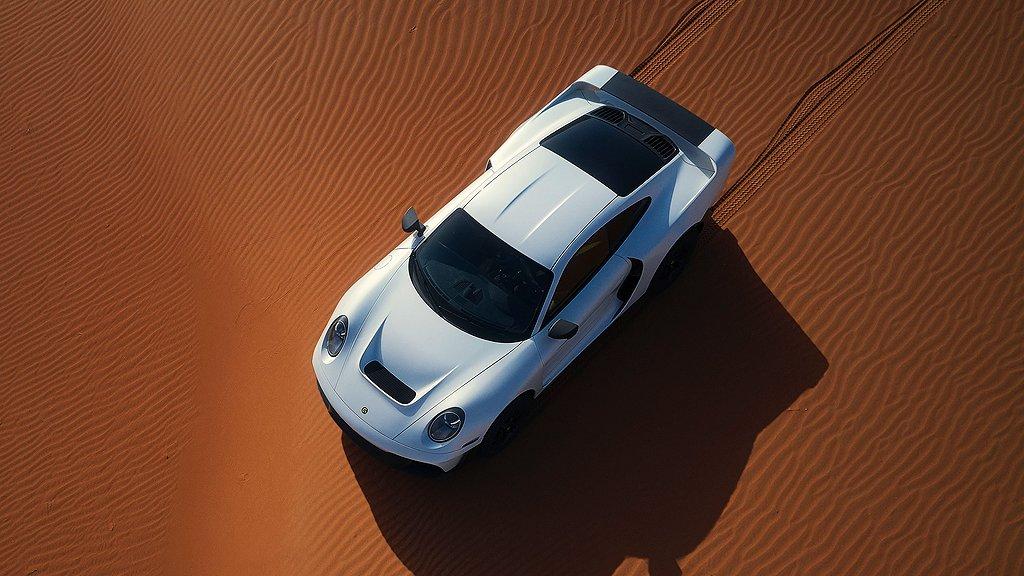 Gemballa Marsien i sanddynor