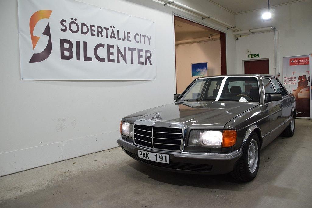 Mercedes-Benz 380 SE Automat 204HK 26200MIL SVENSKSÅLD