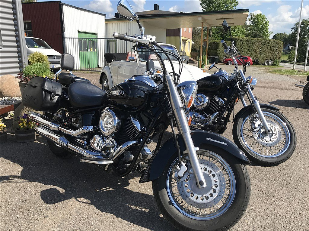 Yamaha 1100, 650 Dragstar, Honda VFR 800 MC UTHYRES!!!