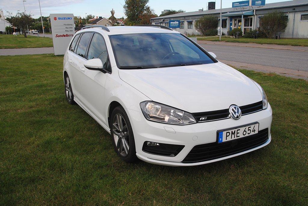 Volkswagen Golf Sportscombi 1.4 TSI Sport, R-line, Highline Plus Euro 6 150hk
