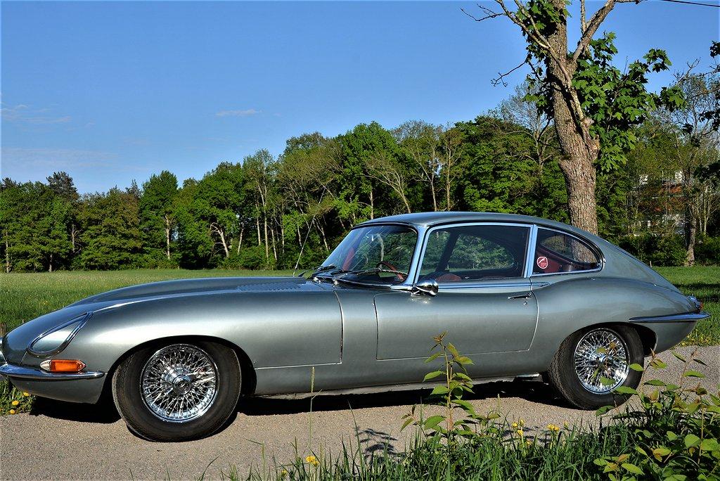 Jaguar E-Type 4.2 Serie 1  2+2 Obs! SÅLD SOLD