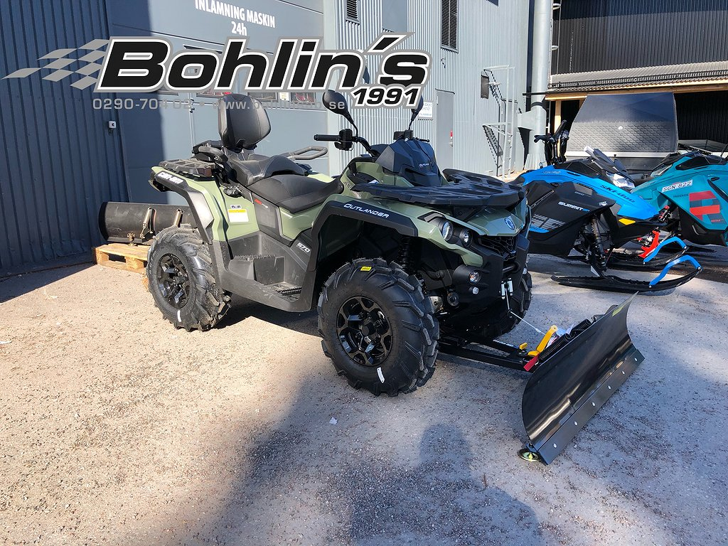 Can-Am Outlander 570 MAX PRO + T3 B -19