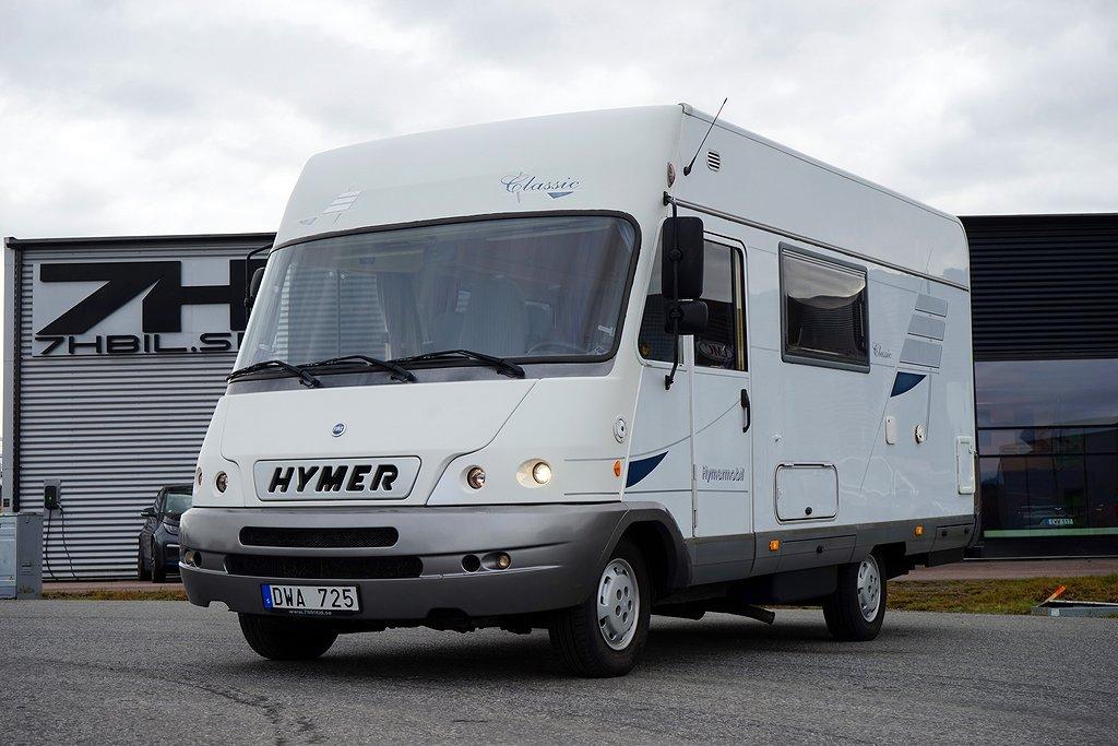 Hymer 544 Classic / 5 sovplatser / Dragkrok /