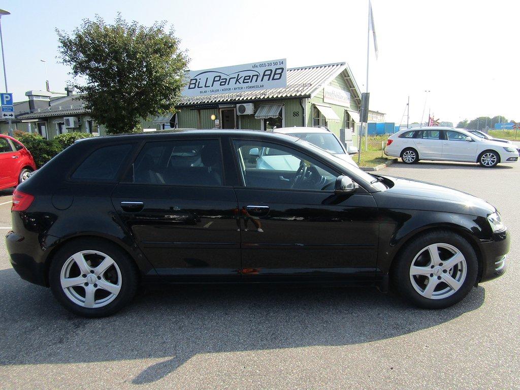 Audi A3 Sportback 1.4 TFSI Attraction, Comfort 125hk