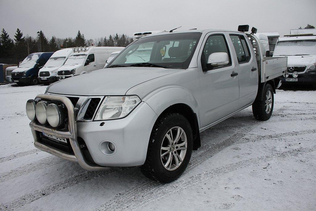 Nissan Navara 2.5 dCi 190hk 4x4 NYBESIKTAD*