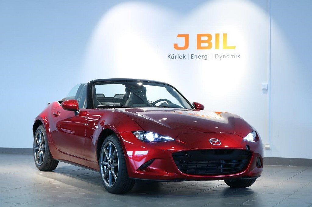 Mazda MX-5 Soft Top 2.0 184hk Sportpaket