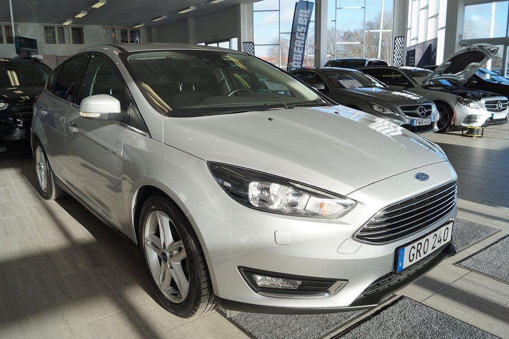 Ford Focus 1.0 100hk EcoBoost Euro 6 Titanium 5dr