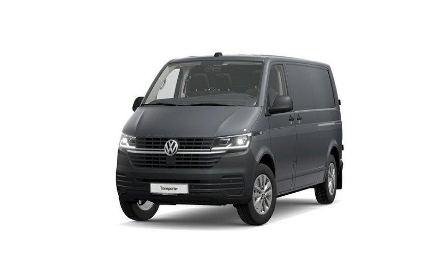 Volkswagen Transporter 6,1 Skåp Dubbla sidodörrar, Drag,