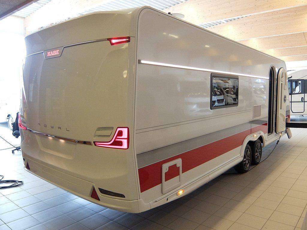 Husvagn, 2-axl Kabe Royal 740 TDL KS E2 4 av 22