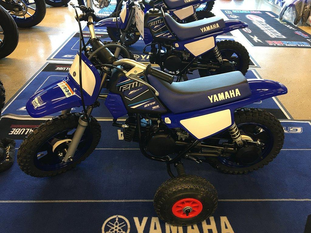 Yamaha PW 50 Med Stödhjul Passa på att boka din 2022 nu!