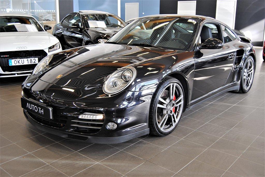 Porsche 911 997 Turbo PDK 500hk // Sv-Såld // Låga mil