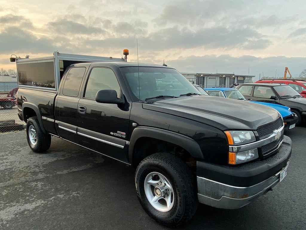 Chevrolet 2500 4WD 6.6L Diesel silverado Extended