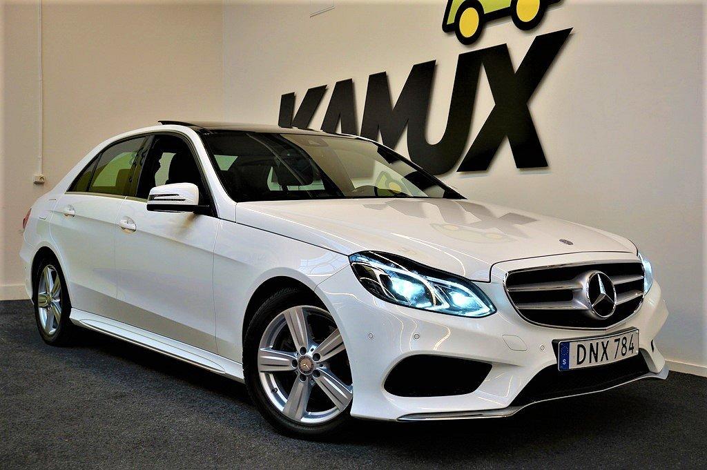 Mercedes-Benz E 250 | 4matic | AMG Sport | Panorama | Värmare | GPS