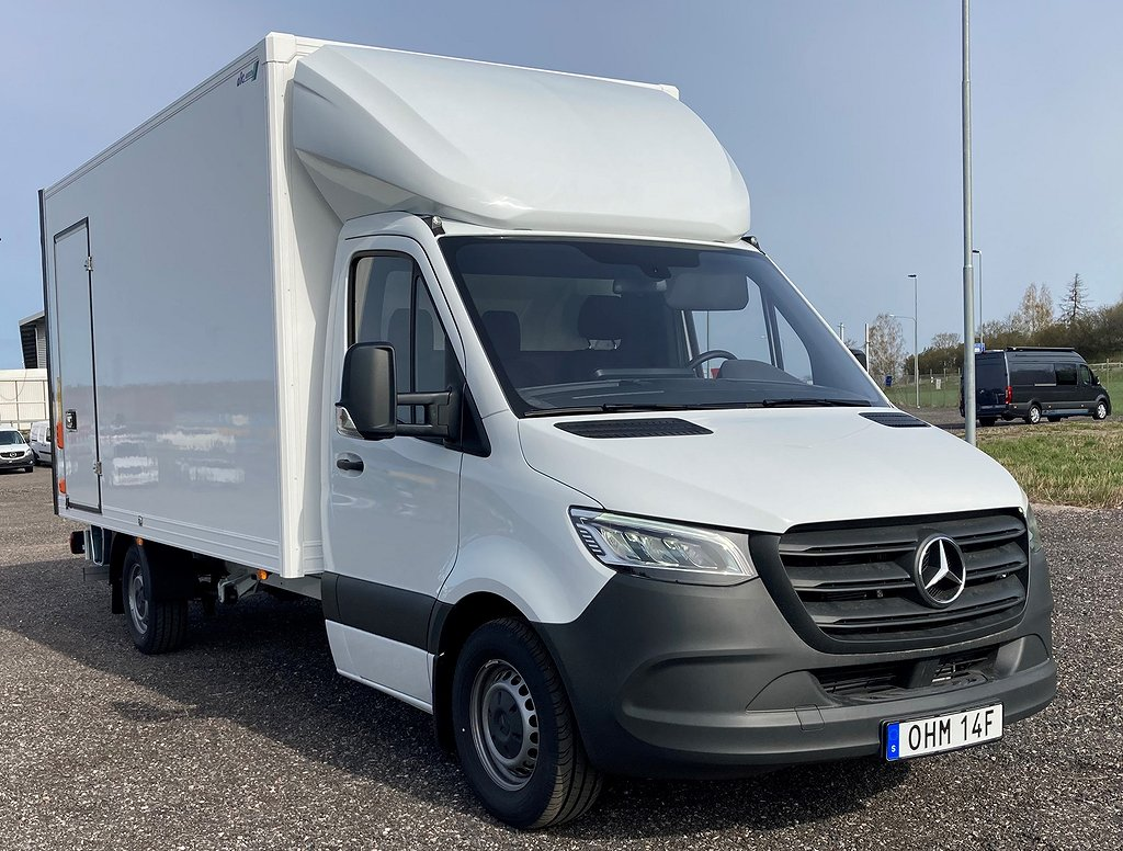 Mercedes-Benz Sprinter 316 CDI ABC EH A3 Bakgavellyft