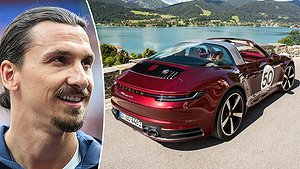 Zlatan har köpt en Porsche 911 Targa 4S Heritage Design Edition.