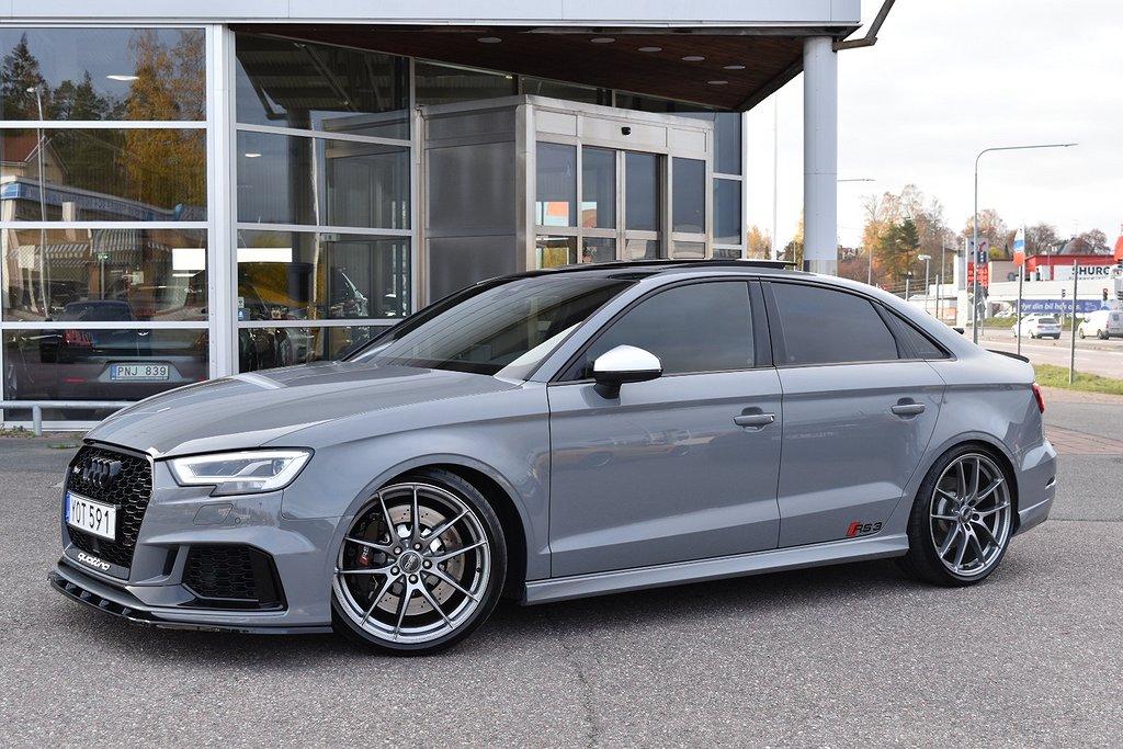 Audi RS3 SEDAN 2,5 TFSI 575HK PÅKOSTAD
