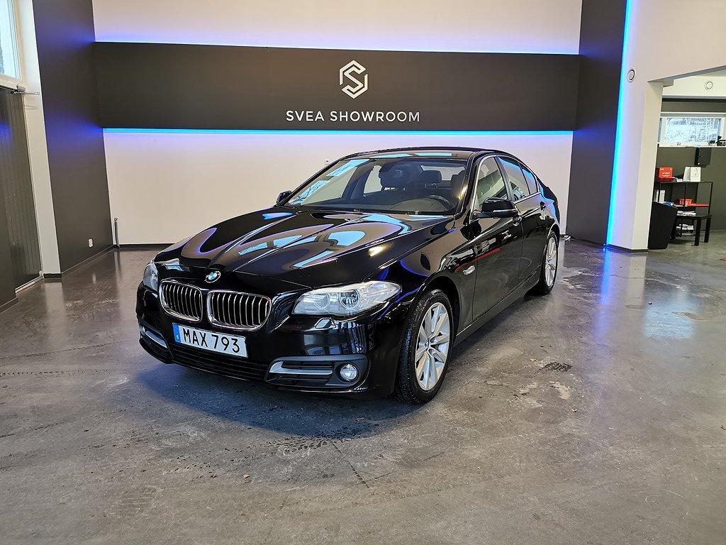 BMW 520 d xDrive Sedan Skinn 190hk Euro 6, 6-mån garanti