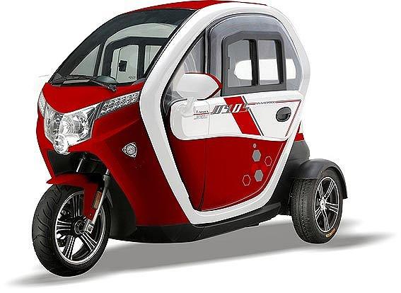 Titan Zero R2 Mopedbil 25/45km/h Laddas med El Demo Bil