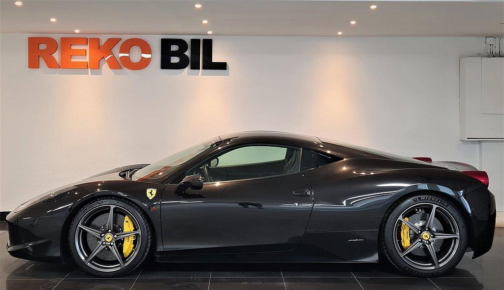 Ferrari 458 Italia 4.5 V8 570hk Skalstolar Kolfiber Led-ratt