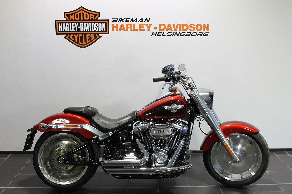 Harley-Davidson FLFBS 114 1 ÅRS GAR FRI FRAKT
