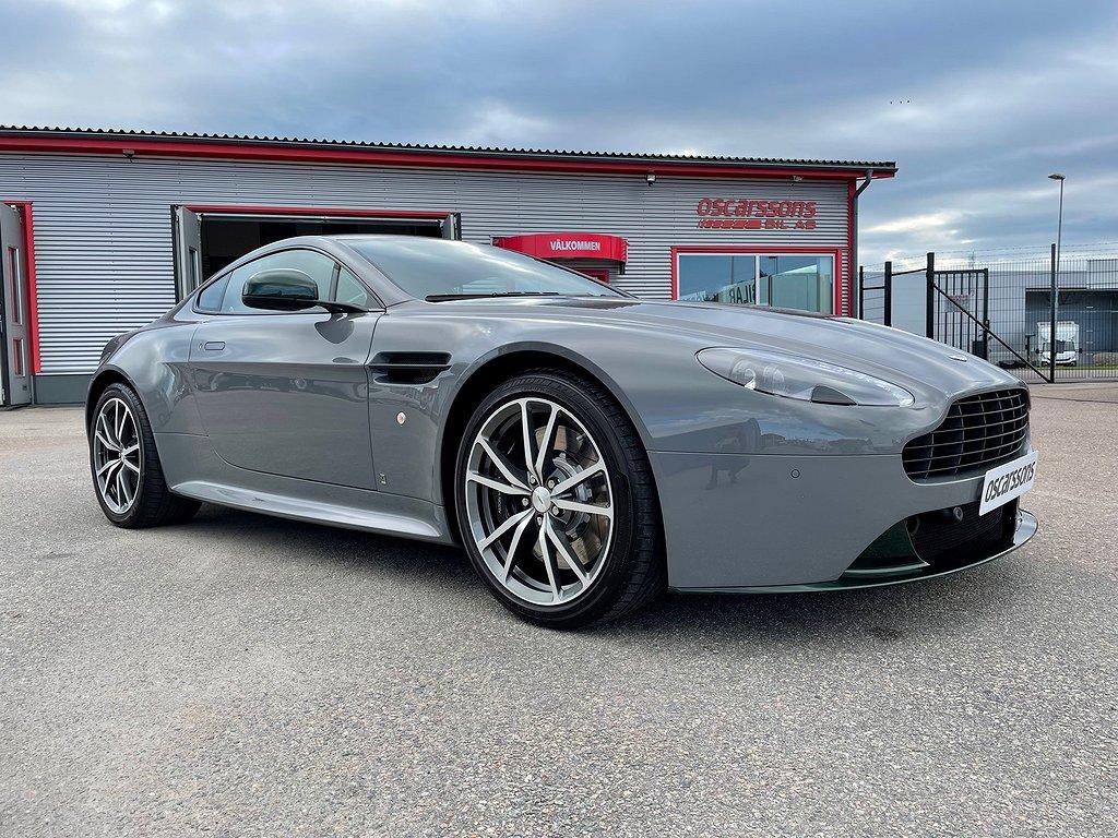 Aston Martin Vantage S 4.7 / 436hk / Svensksåld / 1.080 mil!
