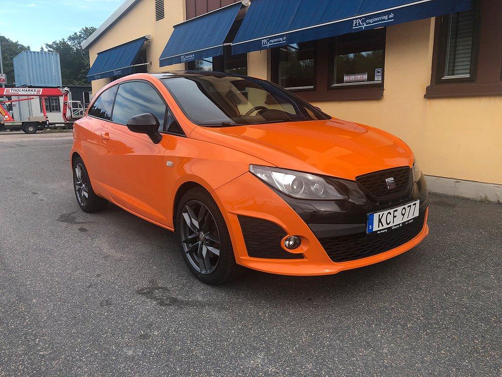 Seat Ibiza Cupra 1.4 TSI DSG 180hk/ Välservad bil!