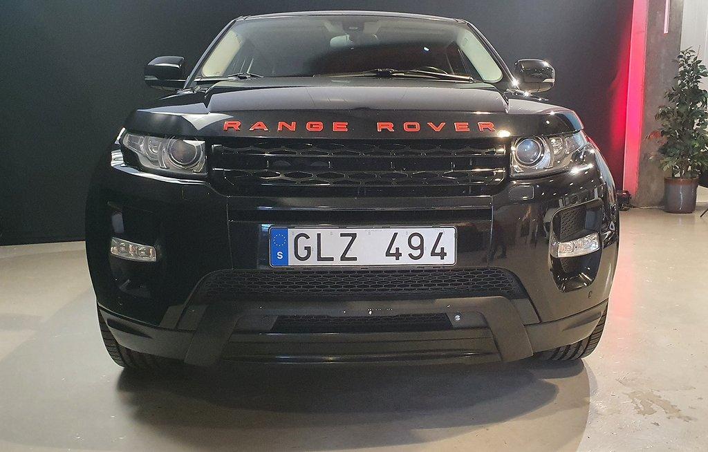 Land Rover Range Rover Evoque 2.2 SD4 190 hk Dynamic Coupe