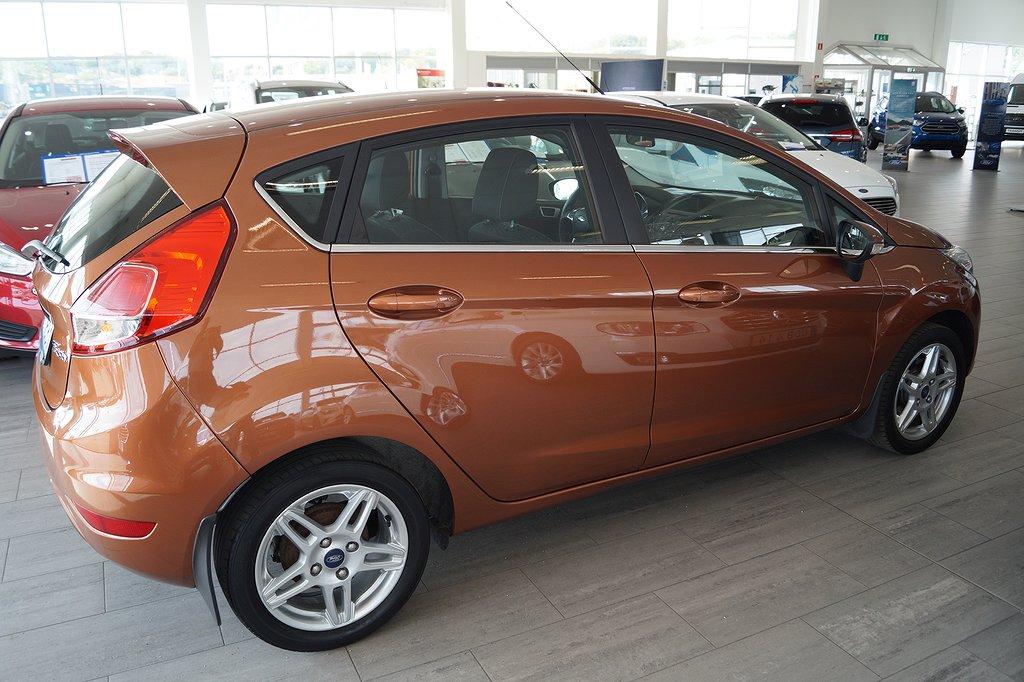 Ford Fiesta *1.95%ränta/5000kr i bränsle* 1.0 80hk Titanium 5D